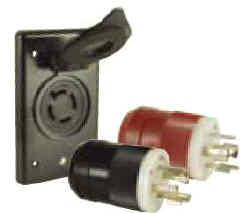 Marine Catalog: Locking Charging/Trolling System Package 4-Wire on 4 wire generator plug, 4 wire radio plug, 4 prong plug, 4 wire to 3 prong, wiring a marinco plug, 4 wire trailer plug, 4 wire marinco plug,